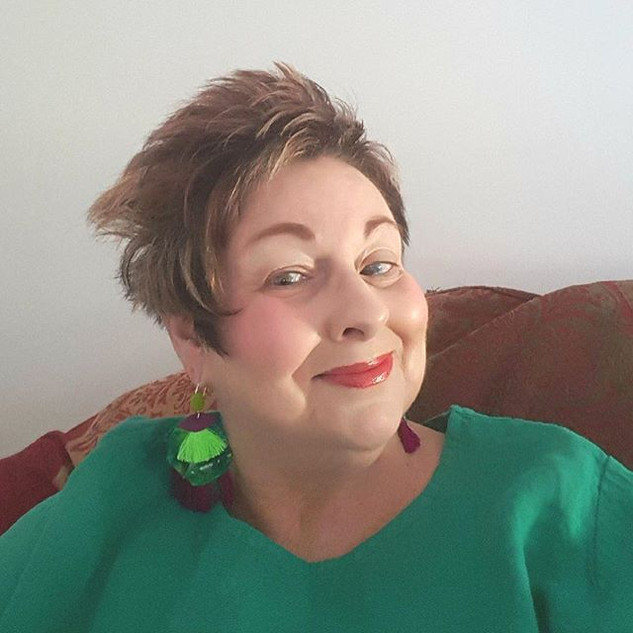 This is Janet, wearing her earrings she had me do especially for #IWD.jpg