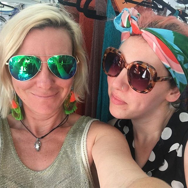 Elle and I just fell in friend at first sight! Gunners-obsessed earring-lover on a color and fun tour of reckless abandon...jpg