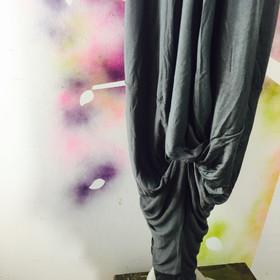 Twist Pants-Grey