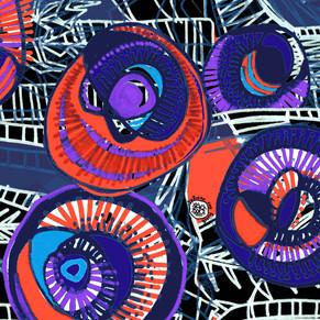 Sticks n' Rolling Stones- Violet