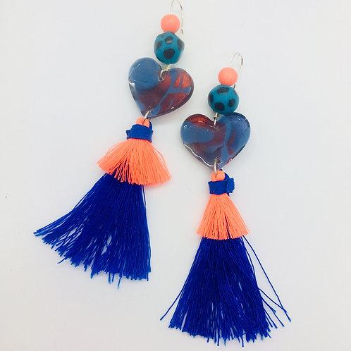 Sweet Tarts Tassel Earrings