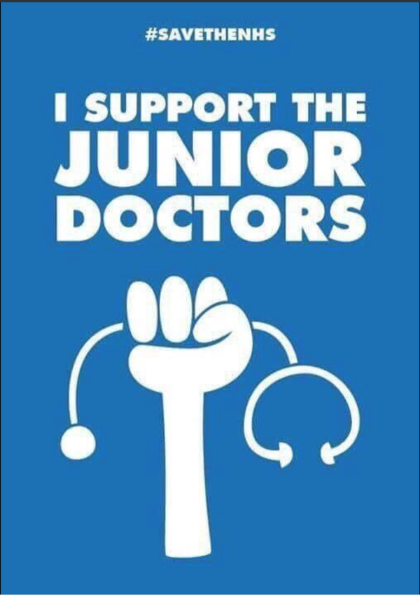 AN OPEN LETTER FROM THE JUNIOR DOCTORS ALLIANCE