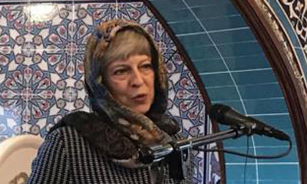 Revealed: British Prime Minister Theresa May's Shocking Links To Islamic Extremists