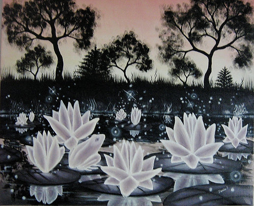 Lotus de lumière