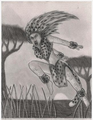 La femme jaguard
