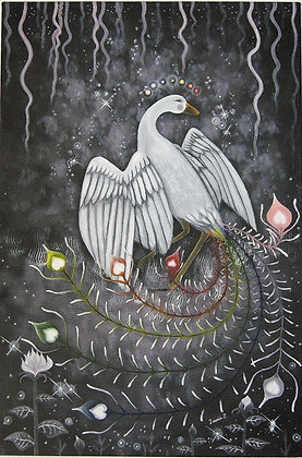 Rosellia, l'oiseau du bien