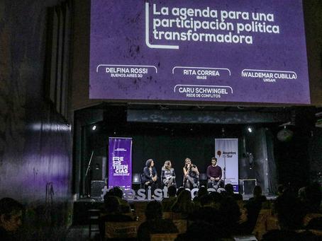 El pasado 10 de mayo se llevó a cabo el Encuentro Latinoamericano Resistencias