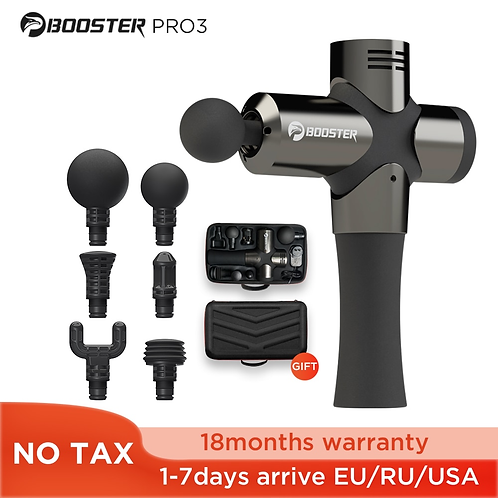 BOOSTER Pro 3 Deep Tissue Massage Gun