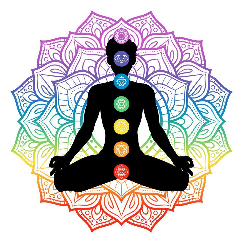 Massage des Chakras