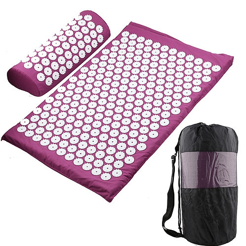Acupressure Relieve Stress Back Body Pain Spike Mat Acupuncture Mat