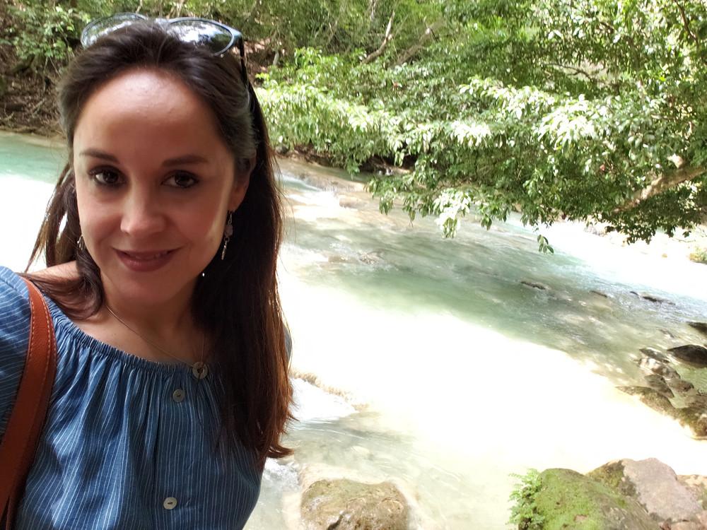 Mi viaje a Chiapas. Cascadas Velo de Novia