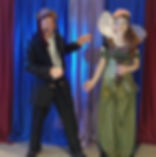 Pirate and fairy show