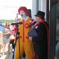 Jammus with Ronald McDonald