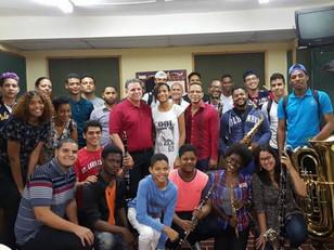 Seminario Nacional para directores e instructores de bandas de música.