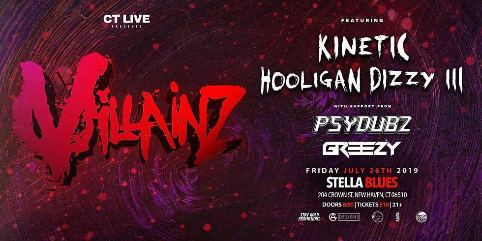 CT Live Presents: Villainz