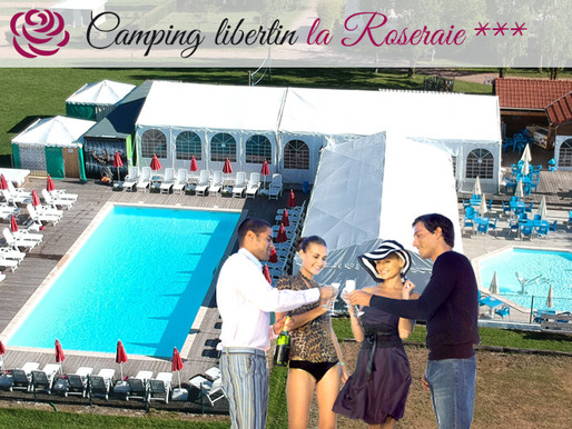 "Le Camping 100% LIBERTIN ""La ROSERAIE"""