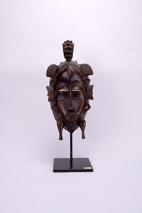 Maschera in legno Senufo - Costa d'Avorio