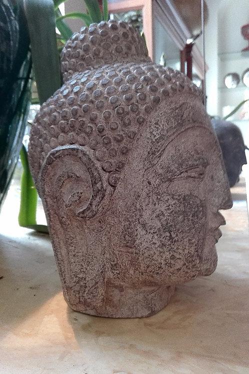 Budda - Testa in pietra - Cina