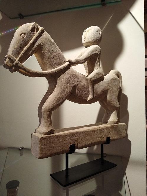 Cavaliere in pietra - Borneo