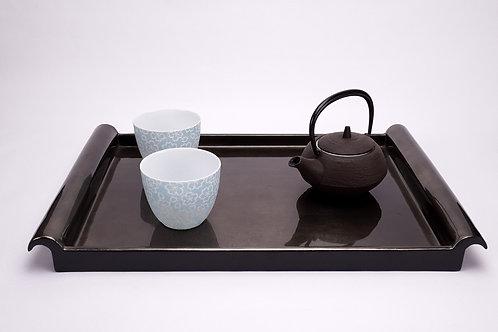 Tao Dong - Vassoio laccato nero