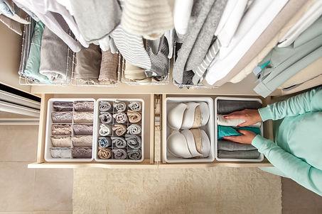 organisation des vêtements