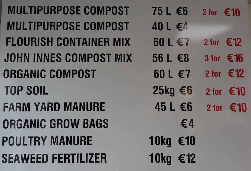 Compost Menu