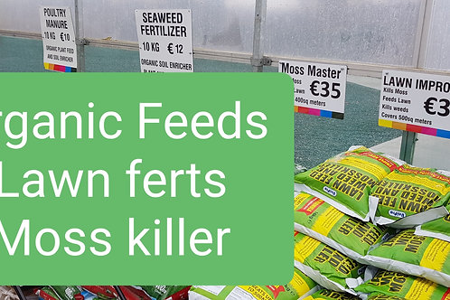 Organic feed and Lawn ferts