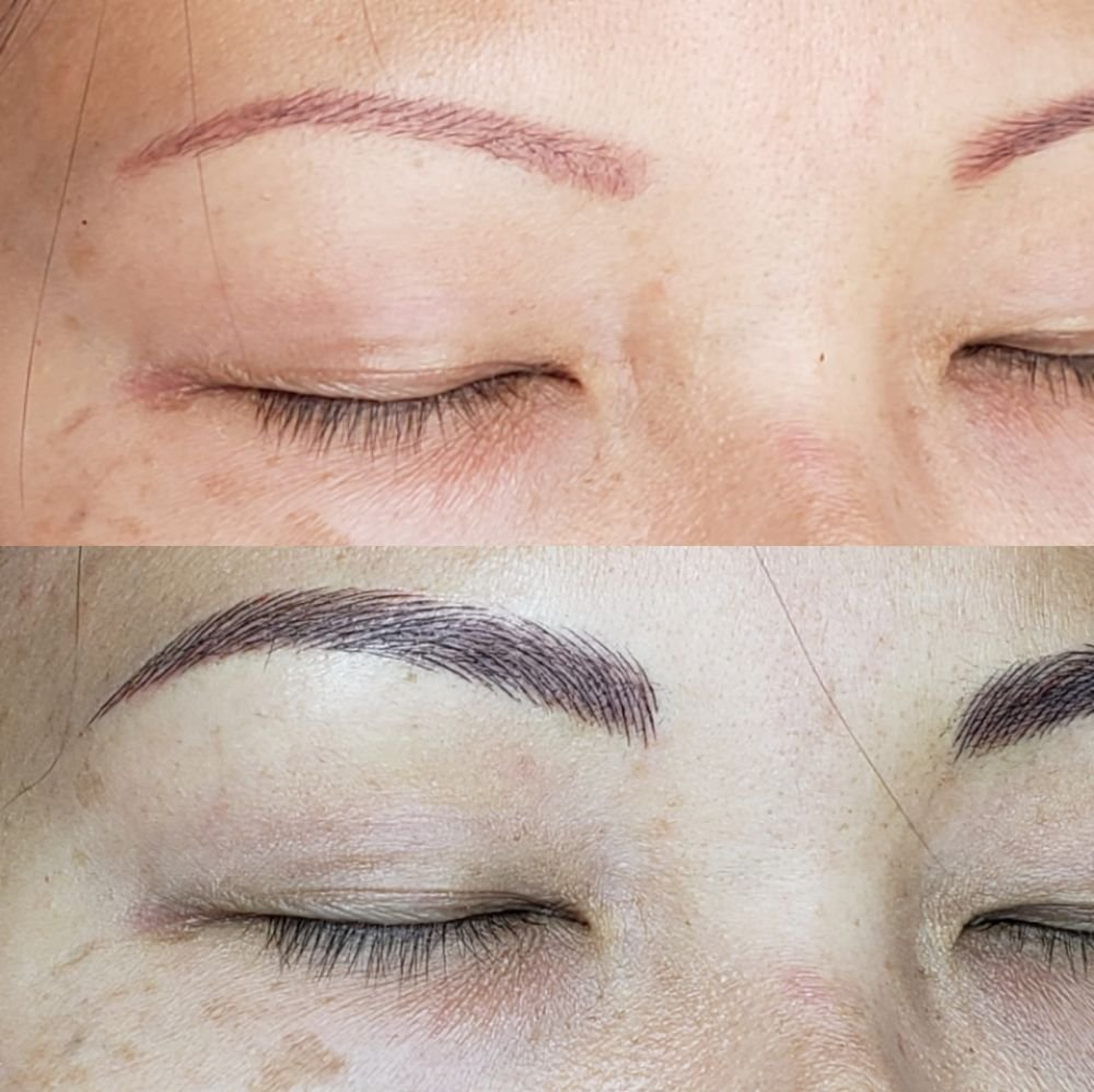 4D Eyebrows and Color Correction