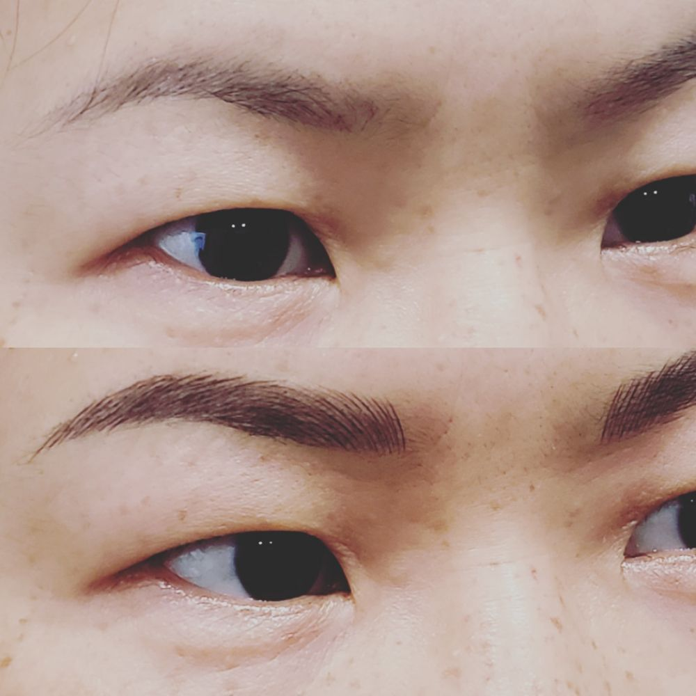 Microblading 3D Natural Eyebrows