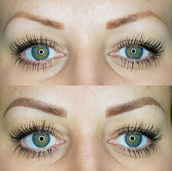 Color Correction and Balanced Out Brows