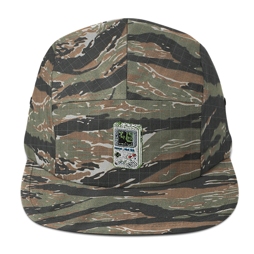 Cheat Codes Embroidered Five Panel Cap