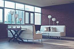 modern lounge room