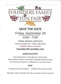 Fun Fair 2017 - September 29th