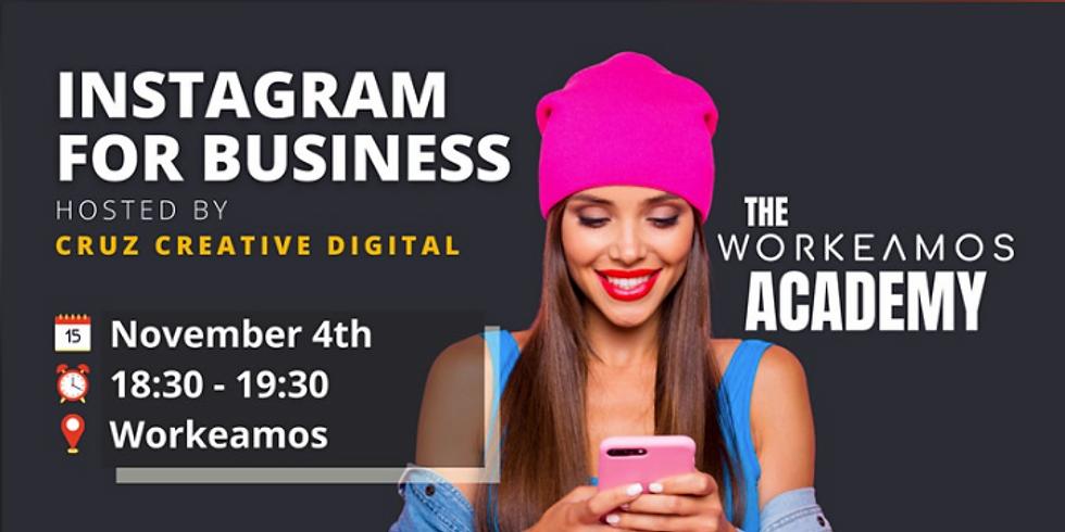 Workshop: Instagram For Business