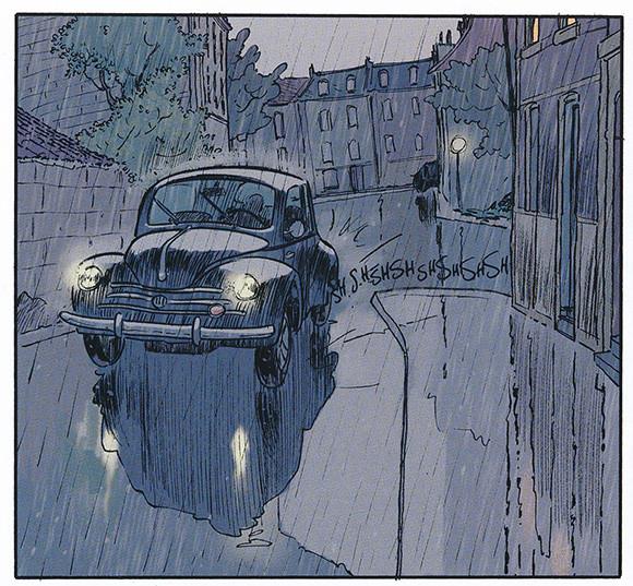 Les beaux étés La calanque Page 6  (Lafebre-Zidrou)