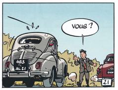 Jacques Gipar Le retour des capucins Page 23  (Delvaux-Dubois)