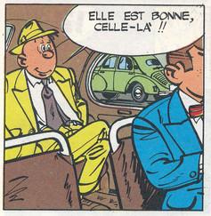 Gil Jourdan Libellule s'évade Page 12  (M. Tillieux)