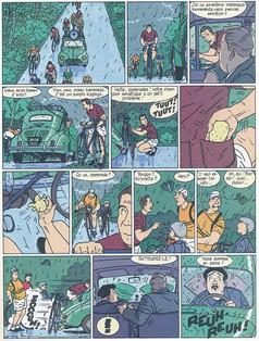Louison Cresson Le machin venu de l'espace Page 9  (Léo Becker)