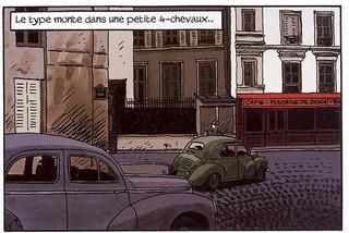 Nestor Burma L'envahissant cadavre de la Plaine Monceau Page 19 Dessiné par Bruno Moynot - 2009