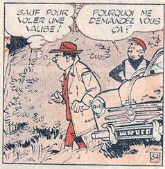 """Marc Jaguar Les camions du diable Journal """"Risque tout"""" Numéro 47"""