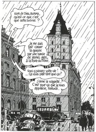 Nestor Burma Casse-pipe à la Nation Page 30