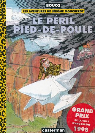 Jérôme Moucherot Le péril pied-de-poule Couverture 1998