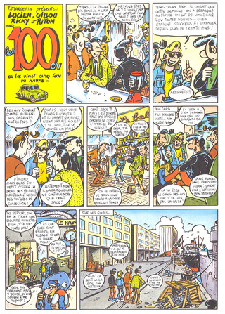 Lucien Les 100CV Page 1  (Margerin)
