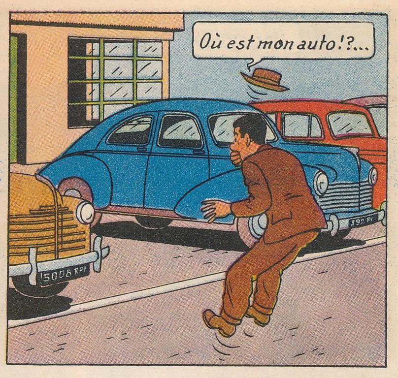 Barelli L'énigmatique M. Barelli Page 12  (Bob de Moor)