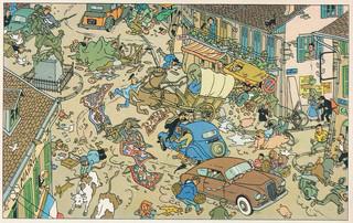 Les aventures de Tintin L'affaire Tournesol  (Hergé)