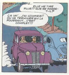 Le lac de l'homme mort Page 16  (Maurice Tillieux)