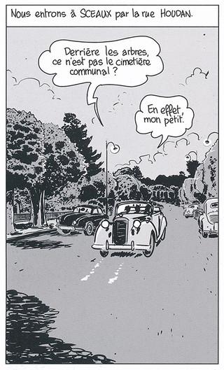Nestor Burma Boulevard… Ossements Page 44 Dessiné par Nicolas Barral - 2013