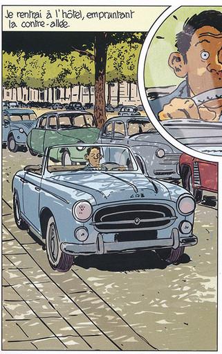 Nestor Burma Corrida aux Champs-Elysées Page 67 Dessiné par Nicolas Barral - 2019