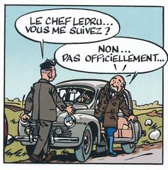 Jacques Gipar Le retour des capucins Page 24  (Delvaux-Dubois)