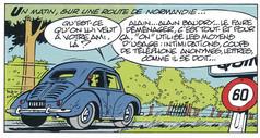 Gil Jourdan Les enquêtes de leurs amis Le secret de Nicolas Flamel Page 11  (Bom & Seron)